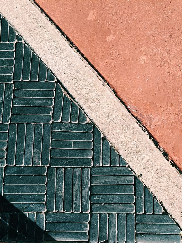 All the post says is that these are street tiles from Miami. Great image. Would love to know more.