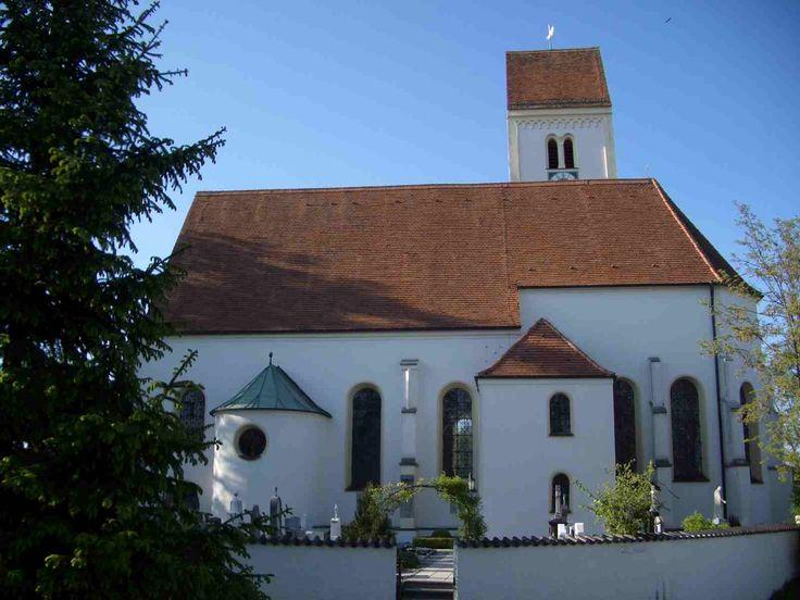 Türkenfeld, Pfarrkirche Mariä Himmelfahrt (ehem. St. Katharina und Sylvester) (Fürstenfeldbruck) BY DE
