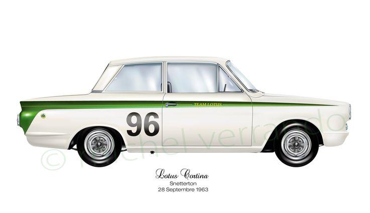 Cortina - Lotus - Snetterton - 1963