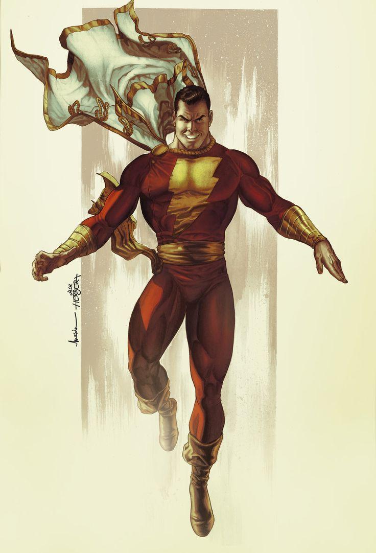 Shazam  Art by Maiolo DC Fan Arts #25