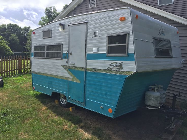 I have for sale a 13 ft 1973 Shasta camping trailer. I am located in CT and know that these trailers are hard to find in the New England area. I bought this trailer already done with hopes of chan…