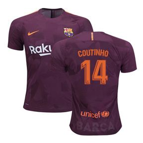 Nike Youth Barcelona Coutinho #14 Soccer Jersey (Alternate 17/18): https://www.soccerevolution.com/store/products/NIK_41168_A.php