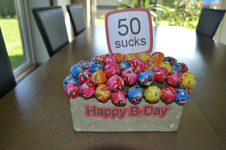 50 ste verjaardag kado