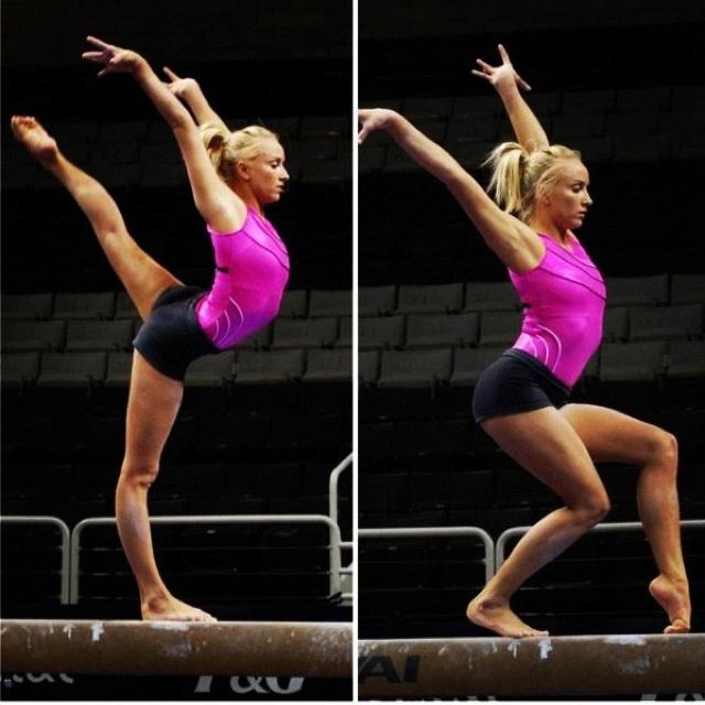 Nastia Liukin  Balance Beam  2008 Olympics All Around