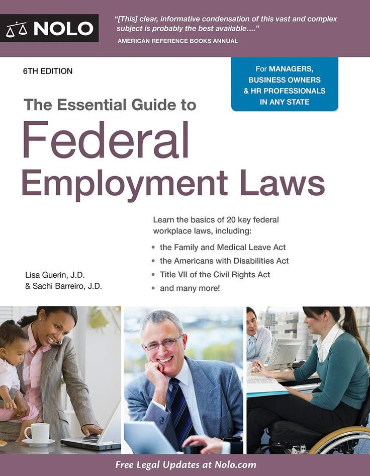 Essential Guide to Federal Employment Laws, The Paperback