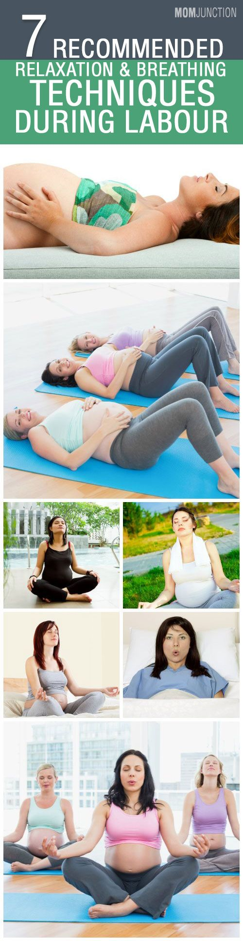 7 Recommended  Relaxation & Breathing Techniques During Labour