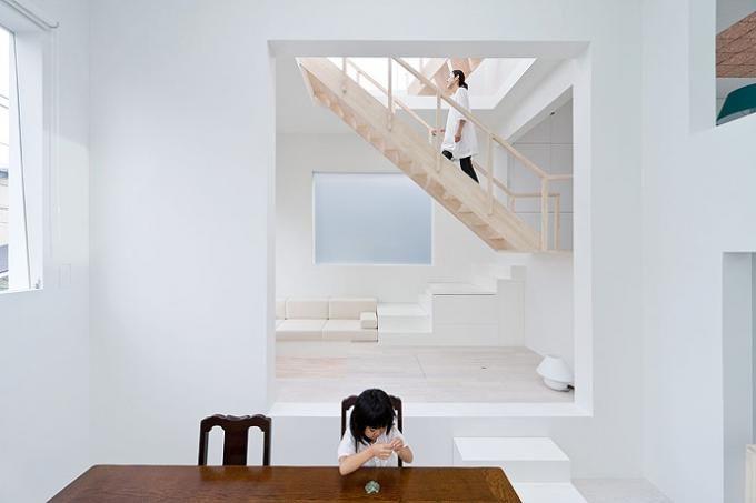 Casa H, Tokio, Japón, 2008. Fotografía © Iwan Baan.