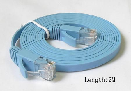 1M 2M 3M 5M 10M 15M 20M CAT6 RJ45 cable Flat UTP 10/100/1000Mbps Ethernet Network Cable Networking cable For PC Router DSL Modem  — 75.07 руб. —