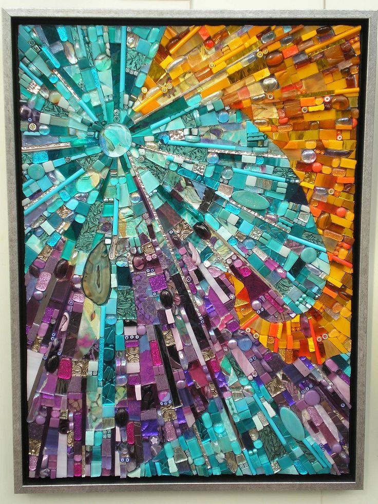 """United Colors"" | by Anja Berkers - mosaics and mixed media art"