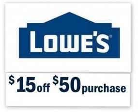 Purchase 10 percent off coupons to be used online at www.lowes.com or at local stores nationwide