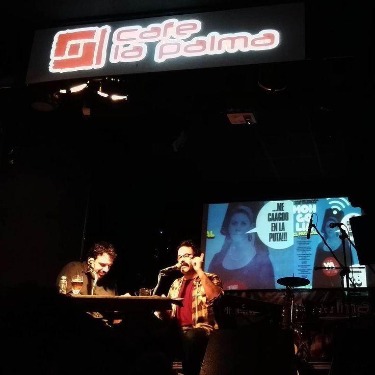 No te pierdas nuestra #luna295 con #EduGalán de @revistamongolia en @cafelapalmaclub. Si te perdiste nuestro programa de #radio en vivo o quieres volver a escucharlo tienes el #podcast en nuestro perfil de #instagram.  #malasaña #cafélapalma #mongolia #Madrid #revista #revistamongolia by hombrelunaradio