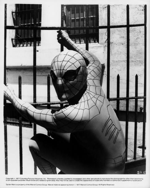 THE AMAZING SPIDER-MAN Nicholas Hammond E.W. (1977) ®... #{T.R.L.}