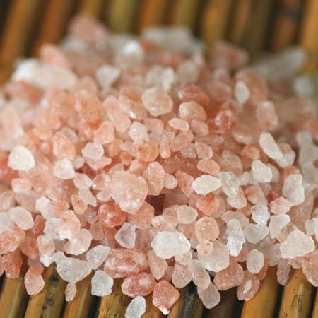 Himalayan pink salt. This stuff is amazing.