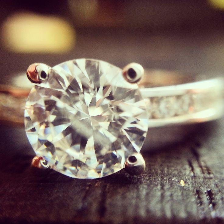심플한 1캐럿 다이아몬드 반지 #Engagement #Ring #diamond #반지 #웨딩링 #결혼반지
