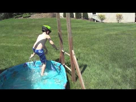 Colin's Wipeout Birthday - James 2