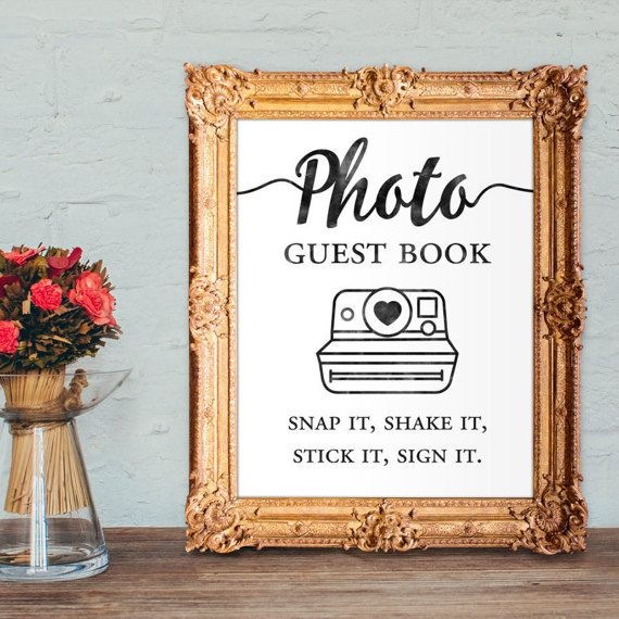 Wedding Photo Guestbook: 17 Best Ideas About Photo Guest Book On Pinterest