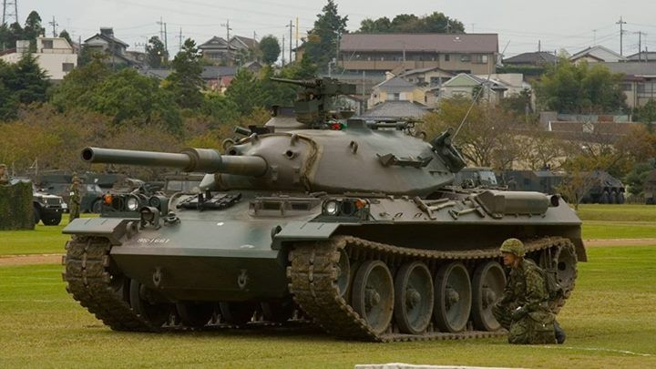 STB-1 - Japanese cold war medium tank prototype