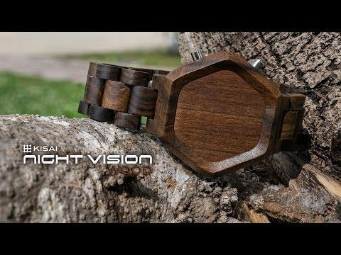 Cool Wood Watches: Kisai Night Vision Wood LED Watch Design From Tokyoflash Japan - YouTube