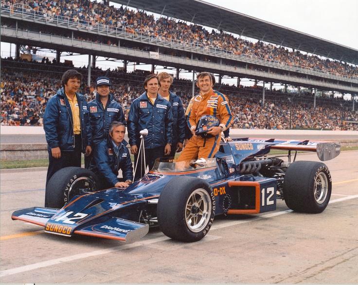 Penske Cars In  Indy