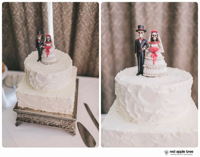 Rock And Roll Themed Wedding Cake Toppers
