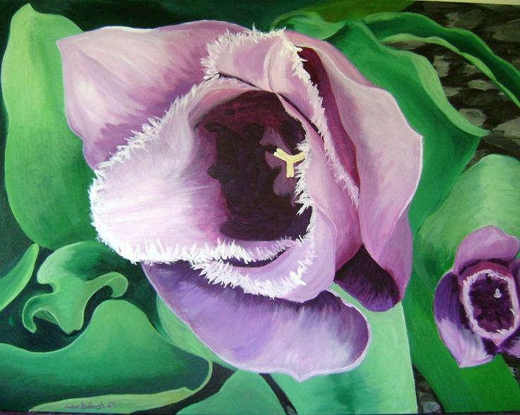 Inside_Purple_Tulipby Amber Middaugh