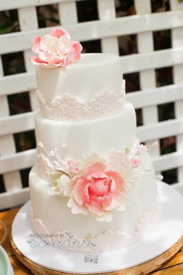 Красно белые свадебные торты - фото 5237647 Арт-кондитер Наталья Татаринова
