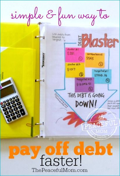 Drowning in Debt with no way out? Take one baby step at a time and turn your debt payoff into a game to help you stay motivated. Print this FREE Debt Blaster Game Board and blast away your debt quickly! -- from ThePeacefulMom.com