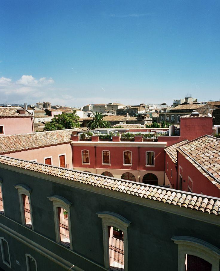 Exterior of Aragona Campus in Catania