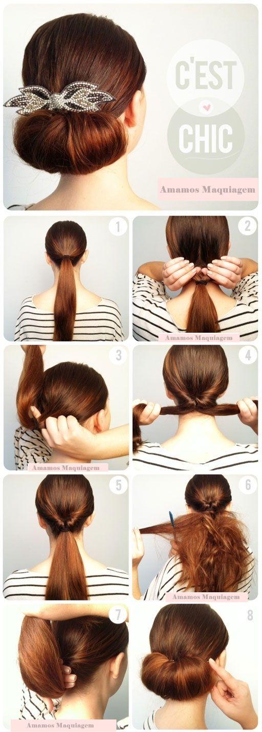 Penteado Fácil - Faça você mesma