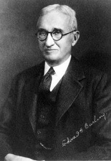 The entity today known as Covington & Burling was founded in 1919 by J.H. Covington, a former U.S. Congressman from Maryland; the firm got its current name in 1924 when it was joined by Chicago RR lawyer Edward Burling. He was married to (Louise Peasely) the sister of (Mathilda Peasely) wife of Frederic Delano, an uncle of 1933-45 U.S. President Franklin Delano Roosevelt. involved with numerous endeavors