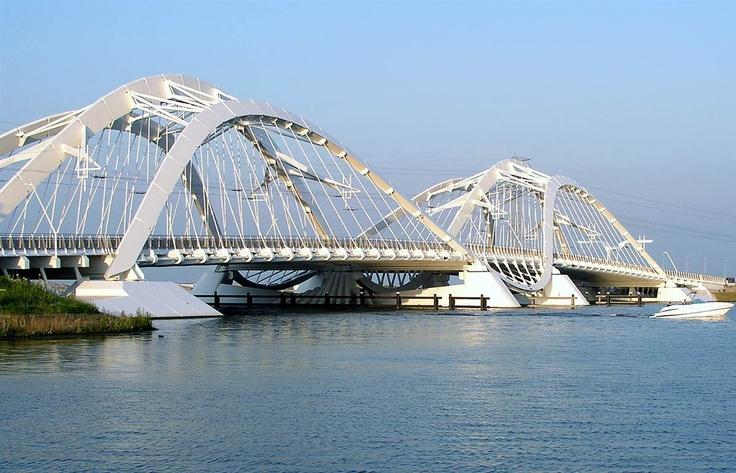Ijburg Bridge, Amsterdam, Netherlands