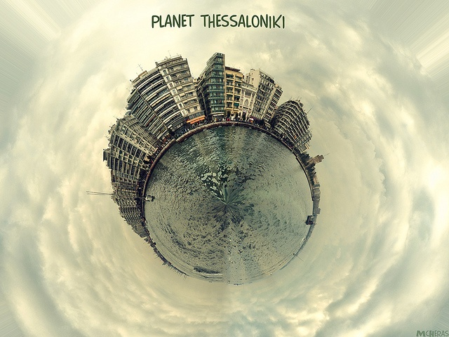 Planet Thessaloniki by McHeras (away), via Flickr