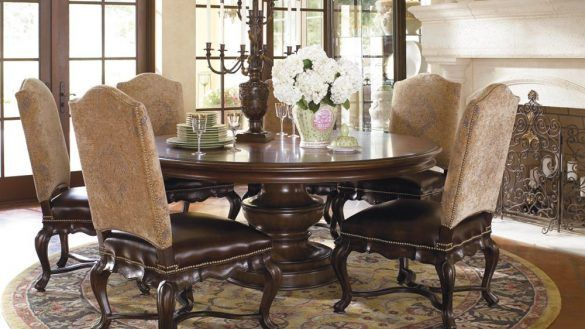 Dining Room Round Table New Thomasville Furniture Sets With From