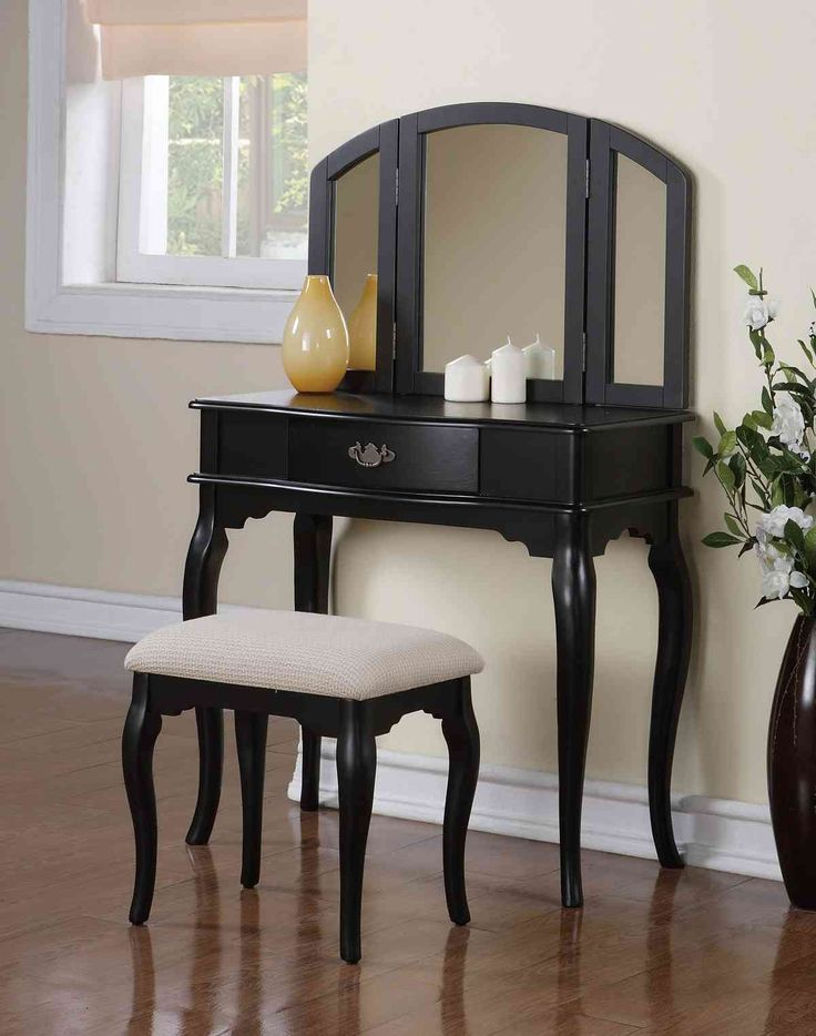 smart natural bedroom vanity sets and white curtains with