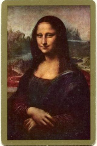 Swap Cards_Mona Lisa