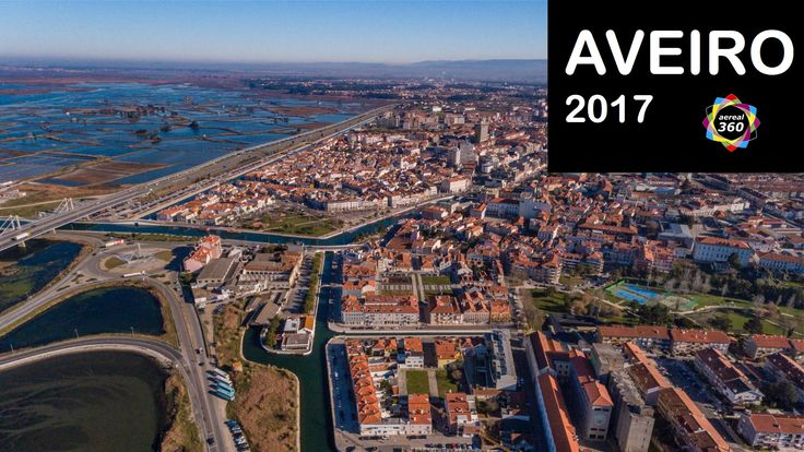Aveiro - Portugal - Aerial Video