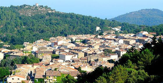 La Garde Freinet, France.    Three fantastic holidays here with my family and friends.