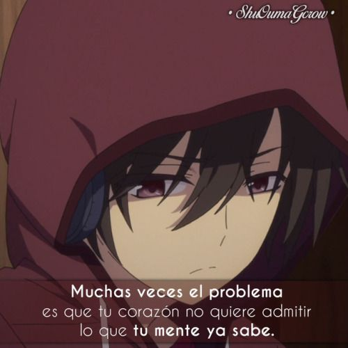 black and white frases anime frase sentimientos ShuOumaGcrow charlotte