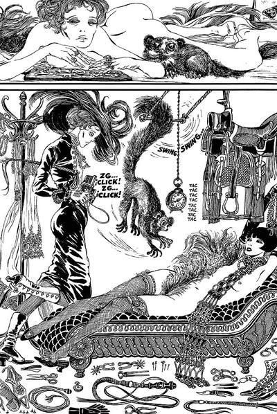 Viñetas de Valentina. Volumen 3, de Guido Crepax.