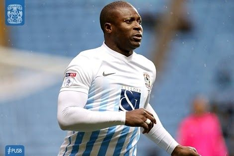 Barely 2 Months After Signing, Coventry City FC Terminate Yakubu Aiyegbeni's Contract