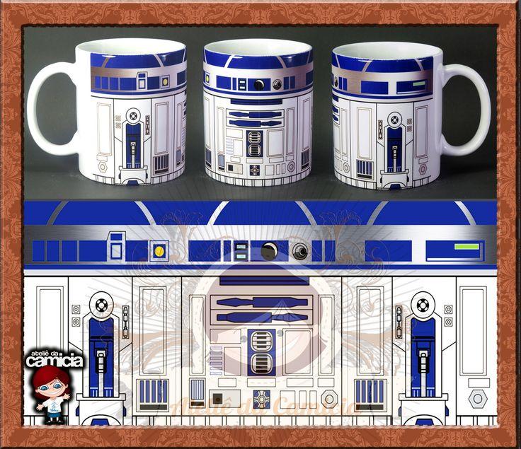 Caneca Star Wars 01 | Ateliê da Camicia | Elo7