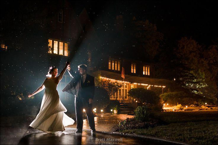 the english inn, eaton rapids michigan, night portrait, wedding