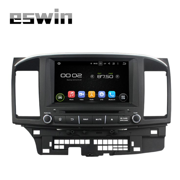 Android Car Multimedia Player Radio Auto Stereo For MITSUBISHI LANCER  2014 2015 Support OBD DVR USB Wifi/3G 1024*600 Free Map
