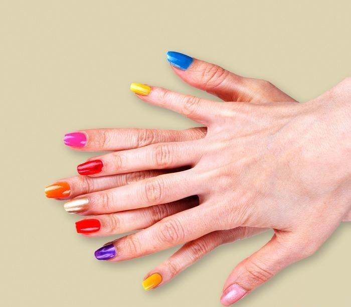 Summer nails-yaz tırnakları 2