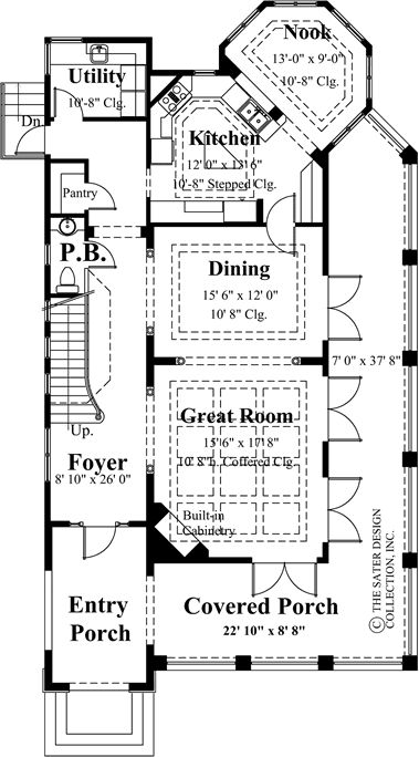 43 best Craftsman and Prairie Style Home Plans The Sater Design