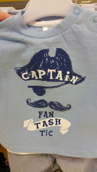 Captain fanTASHtic Tesco Clothing F+F boys tshirt