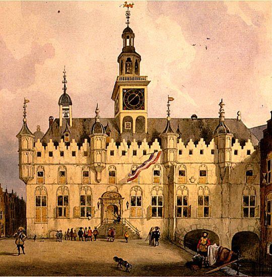 Het raadhuis van Dordrecht na de verbouwing