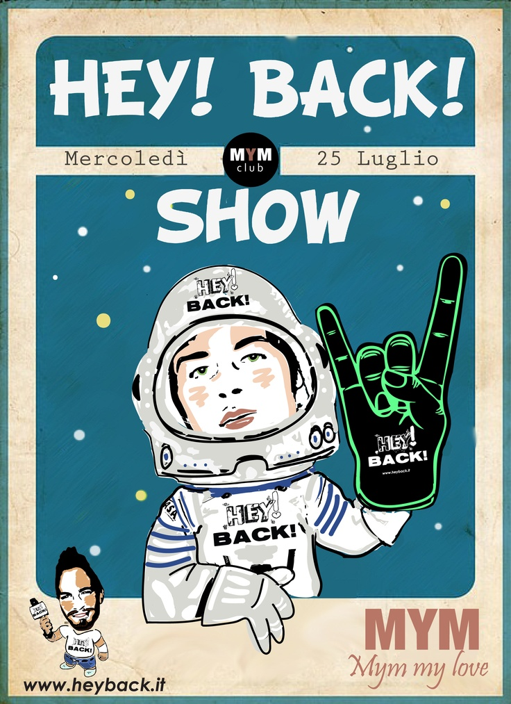 HEY! BACK! SHOW @MYM DISCO CLUB: Spaces, Mym Discos, Hey, Movement, Discs Club