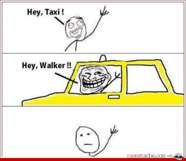Trolling mode: Taxi driver