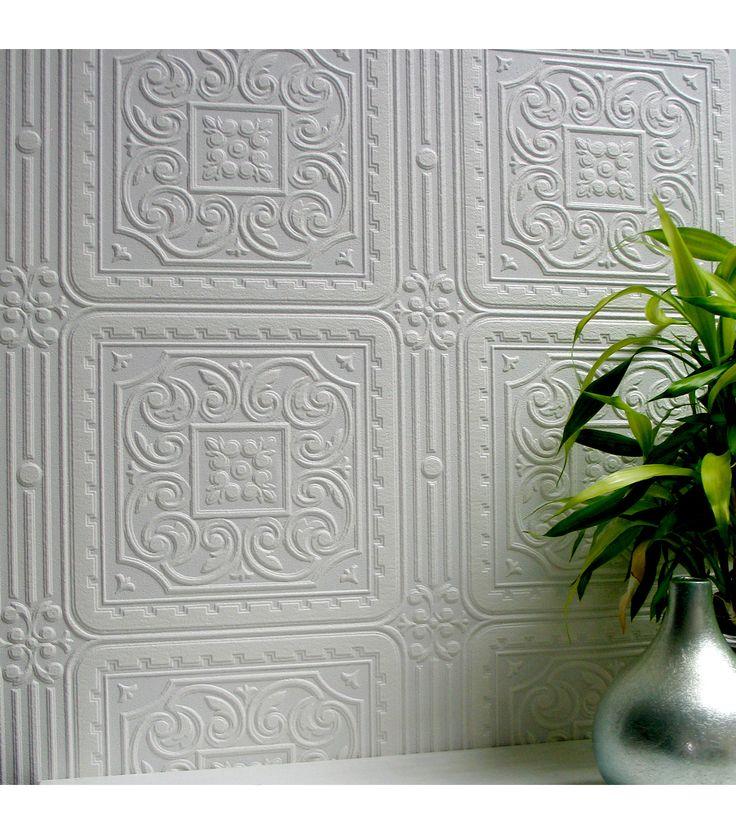 Backsplashes that look like tin tiles turner tile - Wallpaper that looks like tile for kitchen backsplash ...
